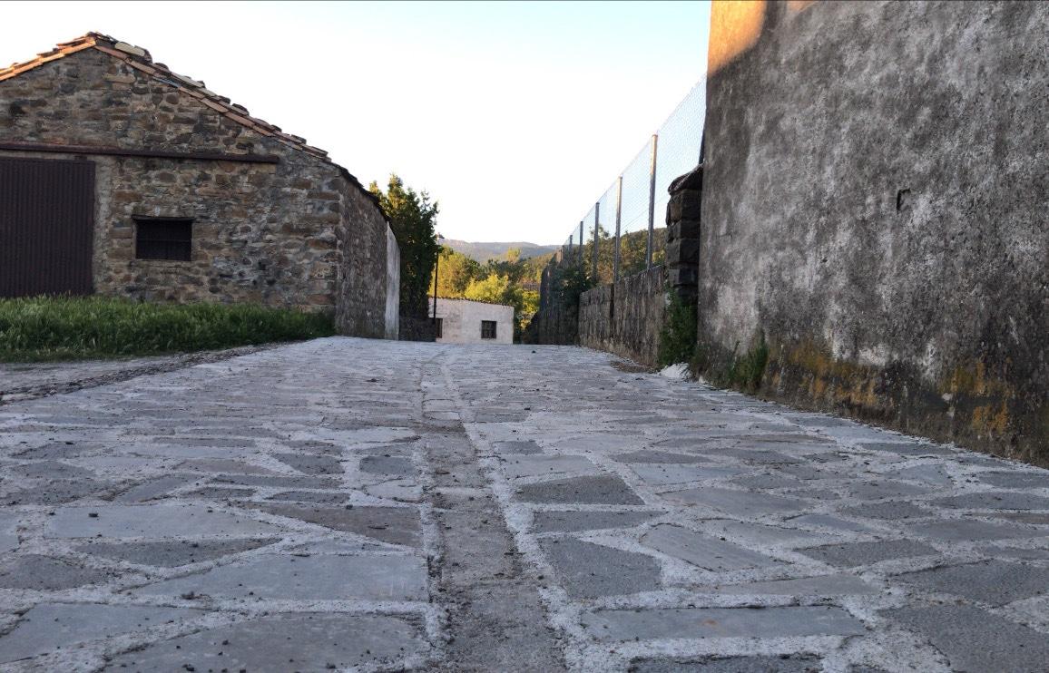 Pavimentación en piedra